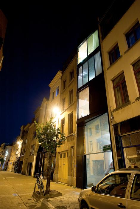 Maison moderne au centre-ville - Décoration maison blog